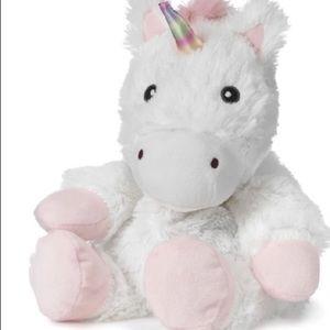 WARMIE white unicorn plush Scented lavender warm